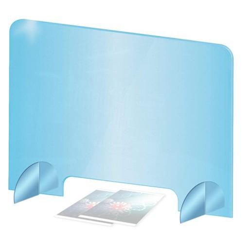 Ochranné plexisklo na pult s otvorem polykarbonátová ochranná bariéra
