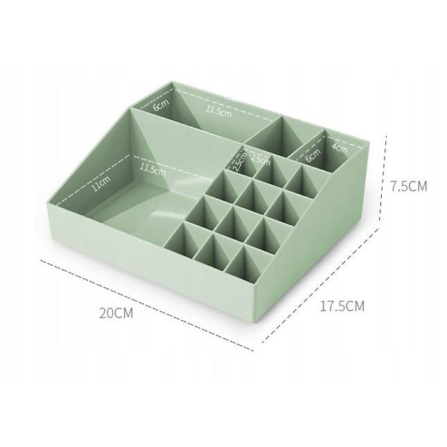 akrylový organizér na kosmetiku 20x18x8cm megamix.shop