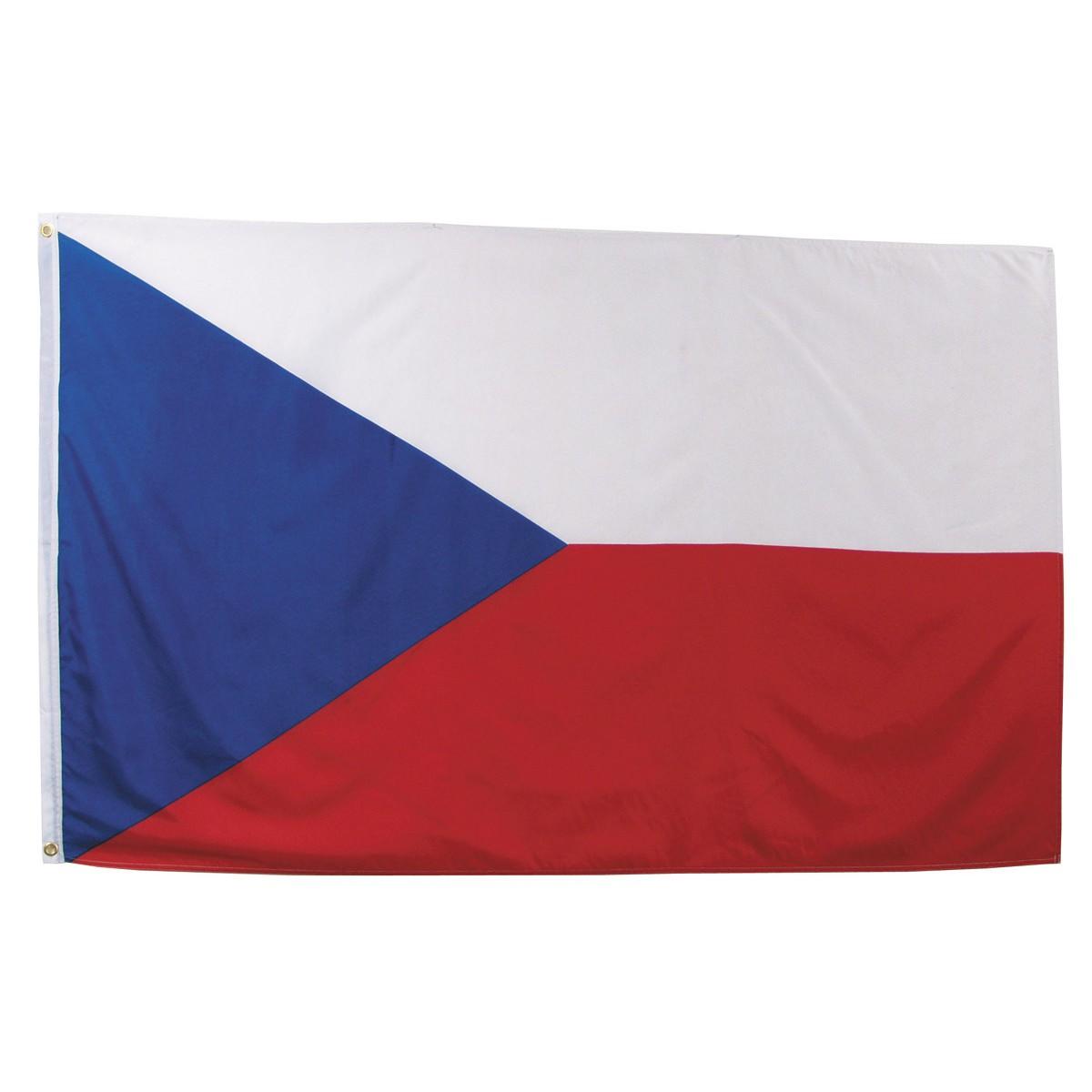 Česká vlajka 150x90cm obojstranná polyester megamix.shop