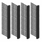 Kolíky na agrotkaninu 100ks 12,5cm černé