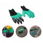 Zahradní rukavice s drápy na hrabání univerzální velikost