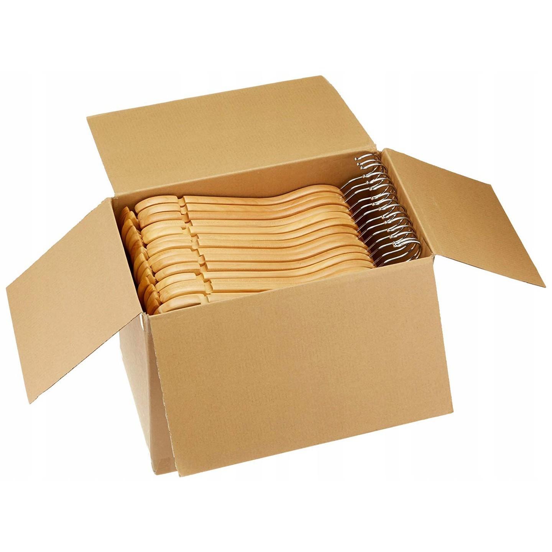 dřevěné věšáky 10ks na oblečení megamix.shop