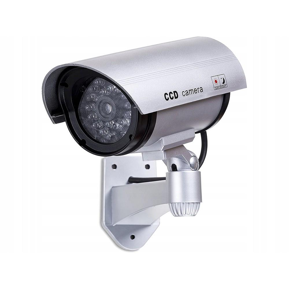 Falešná průmyslová atrapa LED kamera AA 17x8x10 cm megamix.shop