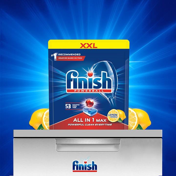 finish MAX All-in-One balení citron 4v1 tabletky, sůl, lesk a vůně megamix.shop