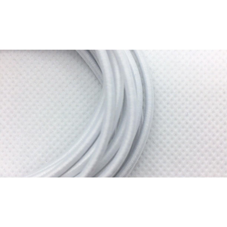 guma kulatá na šití 3mm 10m bílá kulatá gumička na oděv megamix.shop