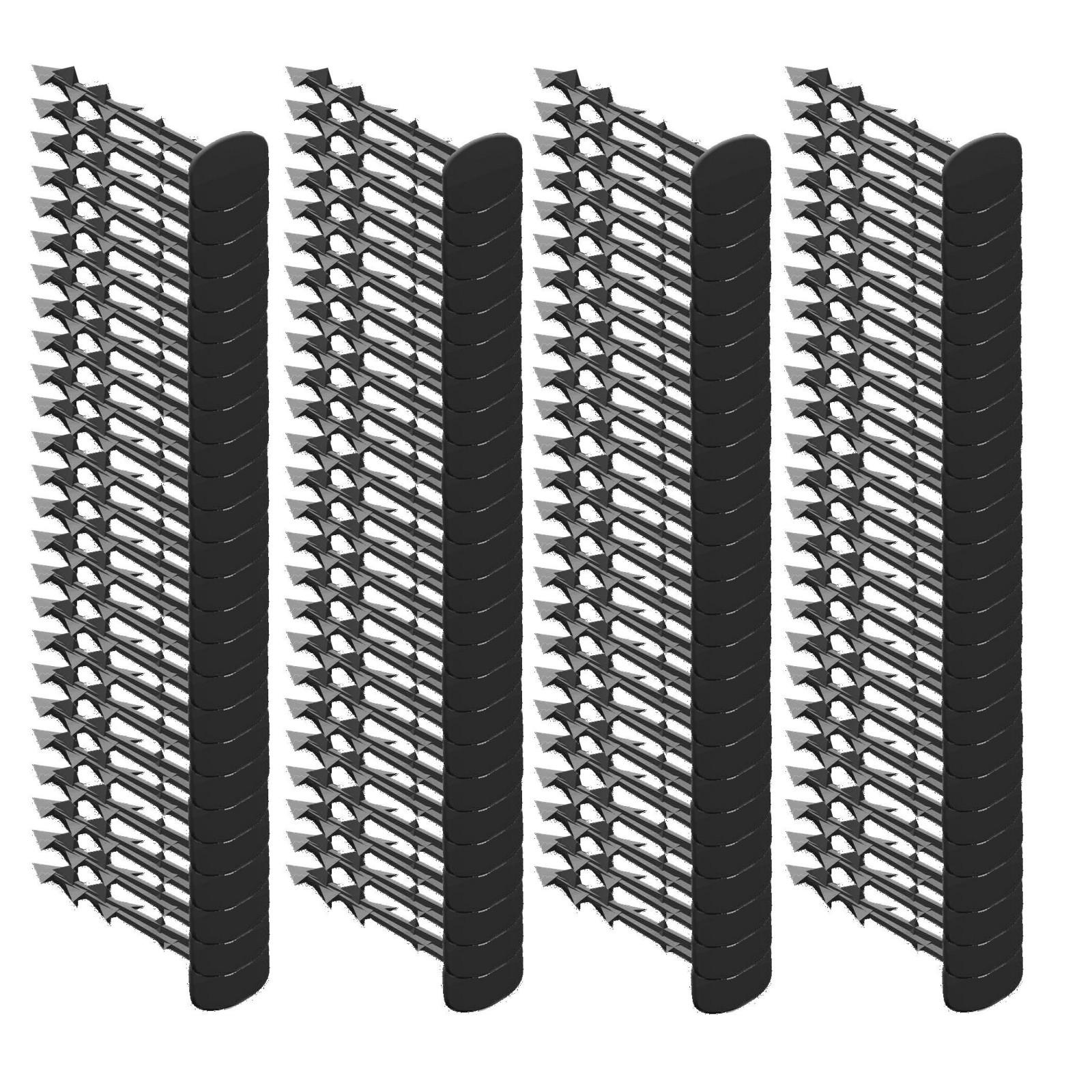 kolíky na agrotkaninu 100ks 12,5cm černé megamix.shop