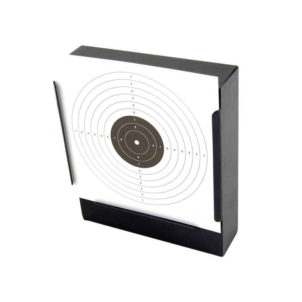kovový držák na papírové terče + 50ks terčů megamix.shop