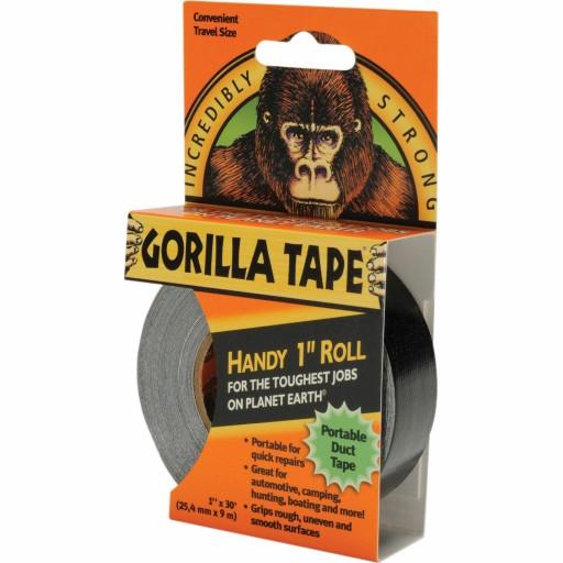 Lepící páska černá voděodolná 9m 2,5cm super silná Gorilla tape megamix.shop