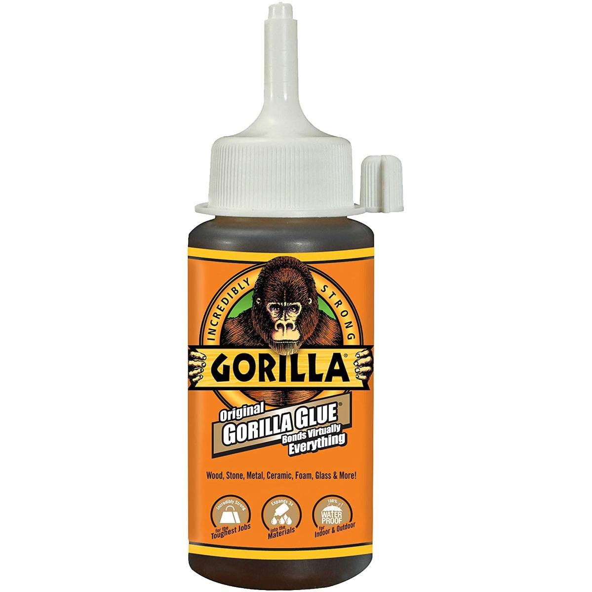 Lepidlo 115ml vodotěsné polyuretanové Gorilla Original megamix.shop