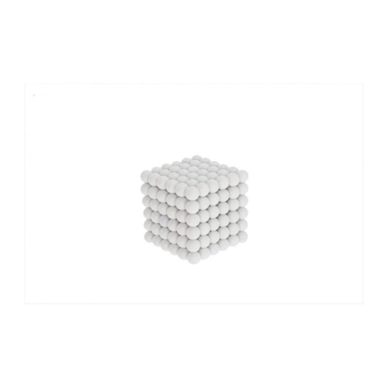 magnetické kuličky bílé 5mm Neocube megamix.shop