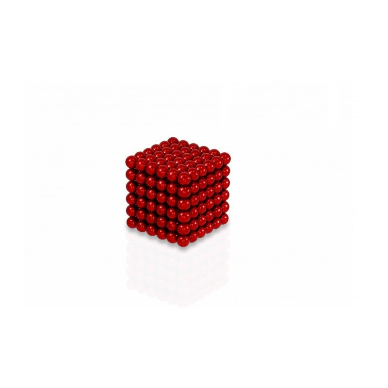magnetické kuličky červené 5mm Neocube megamix.shop