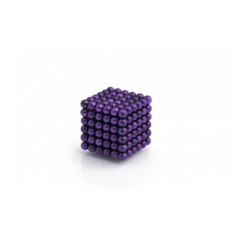 magnetické kuličky fialové 5mm Neocube megamix.shop