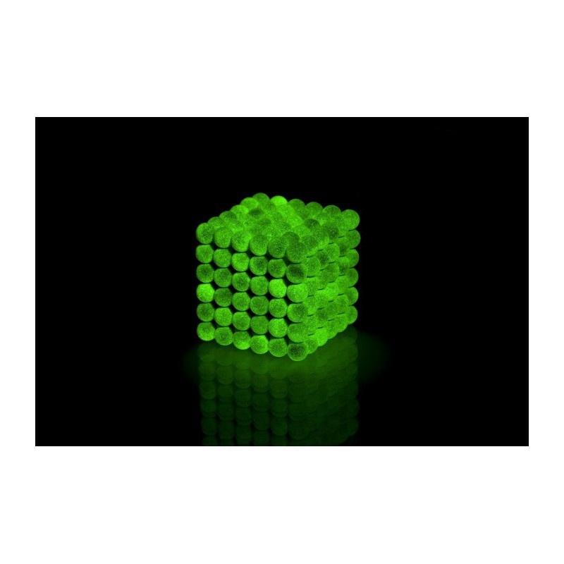 magnetické kuličky fluorescenční 5mm Neocube megamix.shop