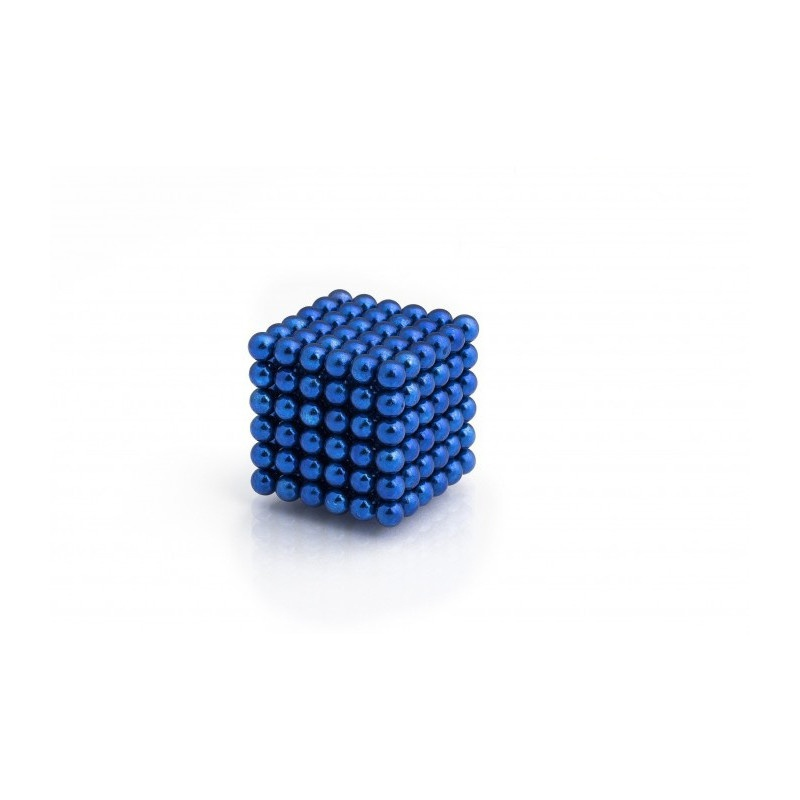 magnetické kuličky modré 5mm Neocube megamix.shop