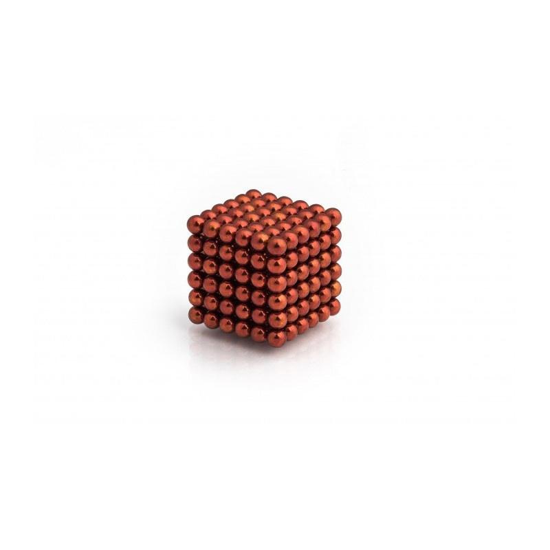 magnetické kuličky oranžové 5mm Neocube megamix.shop