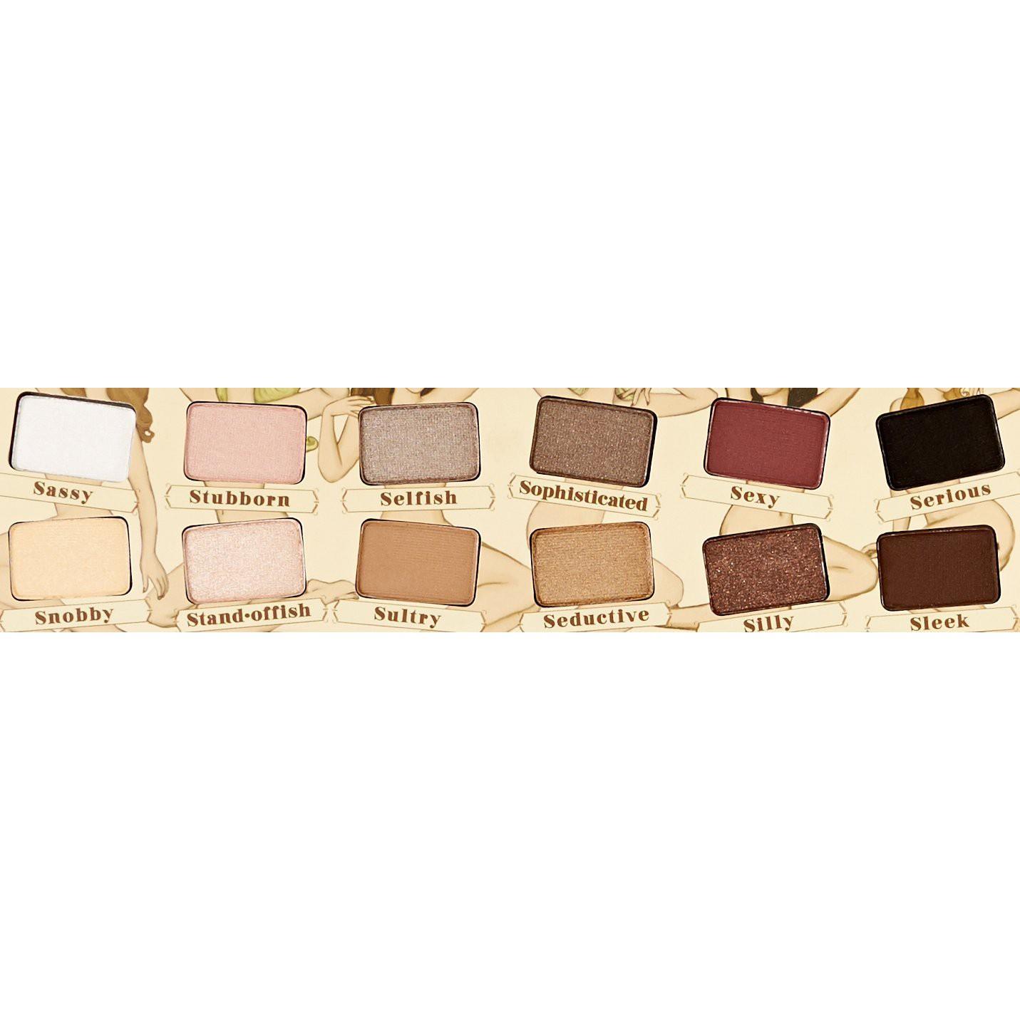 makeup paleta NUDE Tudela 12 stínů megamix.shop