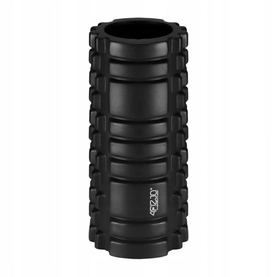 masážní válec na fitness crossfit 33x14 černý megamix.shop