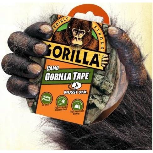 Maskovací páska kamufláž 8,2m 47mm na UV do lesa Gorilla megamix.shop