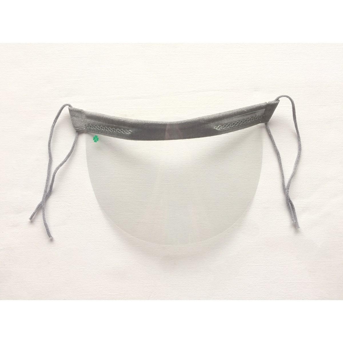 ochranný kryt na tvár priehľadná maska nos ústa 21x12cm univerzálna megamix.sk