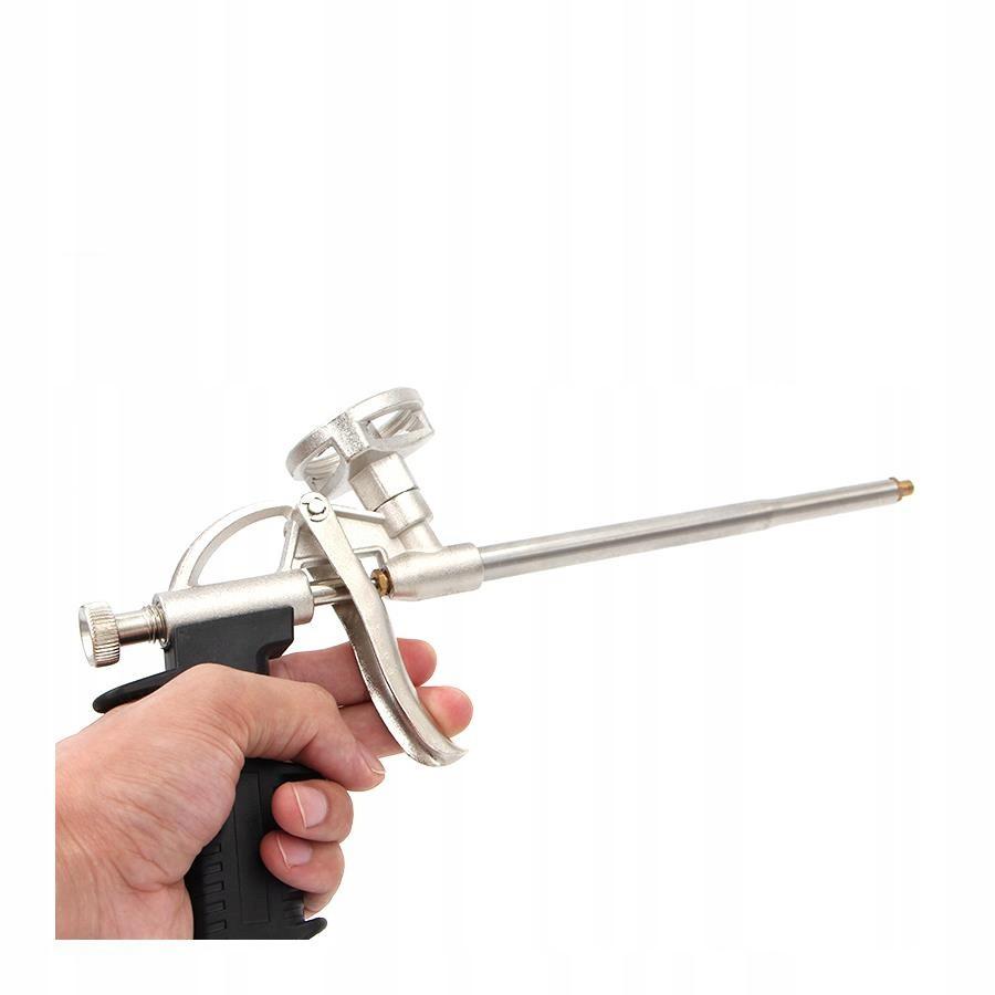 pistole na montáž pěny kovová megamix.shop