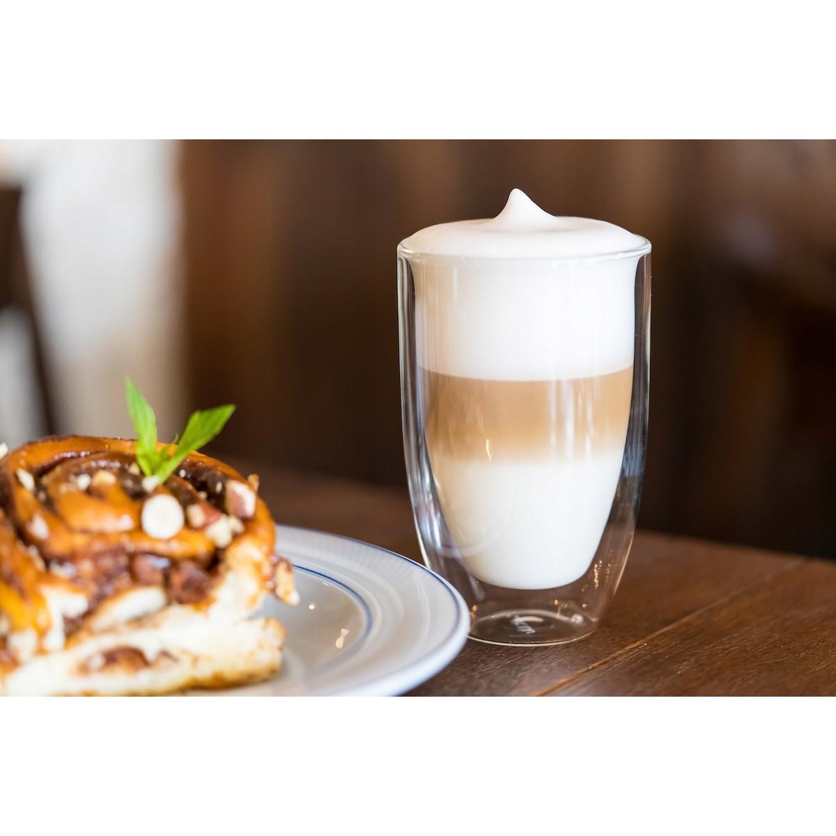 sklenice na kávu latte 350ml termo 6ks megamix.shop