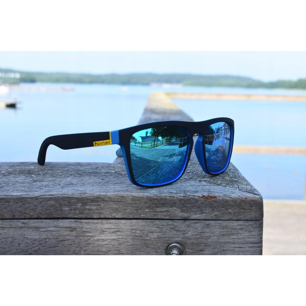 polarizační sluneční brýle modré megamix.shop