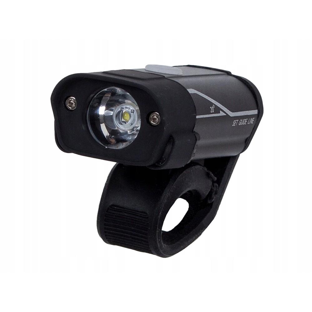 Přední LED světlo na kolo 3,7 V USB 75x25x34 mm megamix.shop