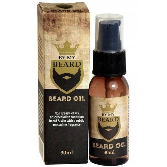 sada na bradu (olej, krém, šampon, kondicionér) + kartáč na bradu megamix.shop