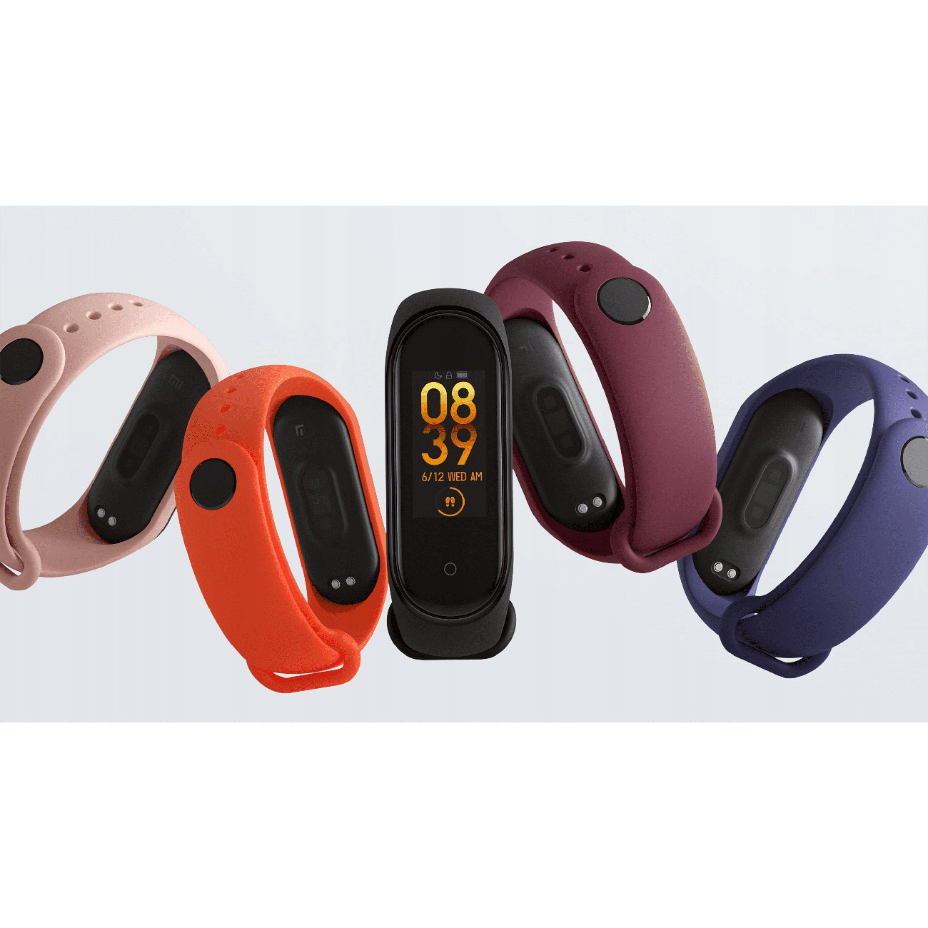 náramek Smart Xiaomi Mi Band 4 5ATM AMOLED HR 135mAh megamix.shop