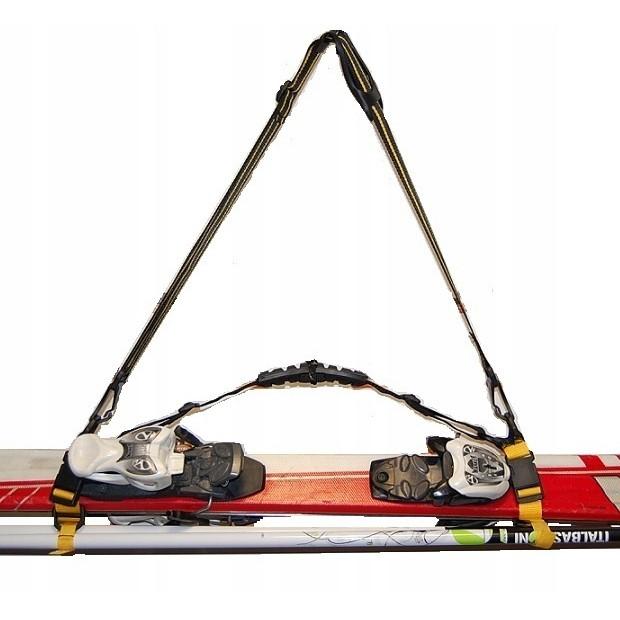 suchý zip pro upevnění lyží 11cm pás na lyže vázání - různé vzory megamix.shop