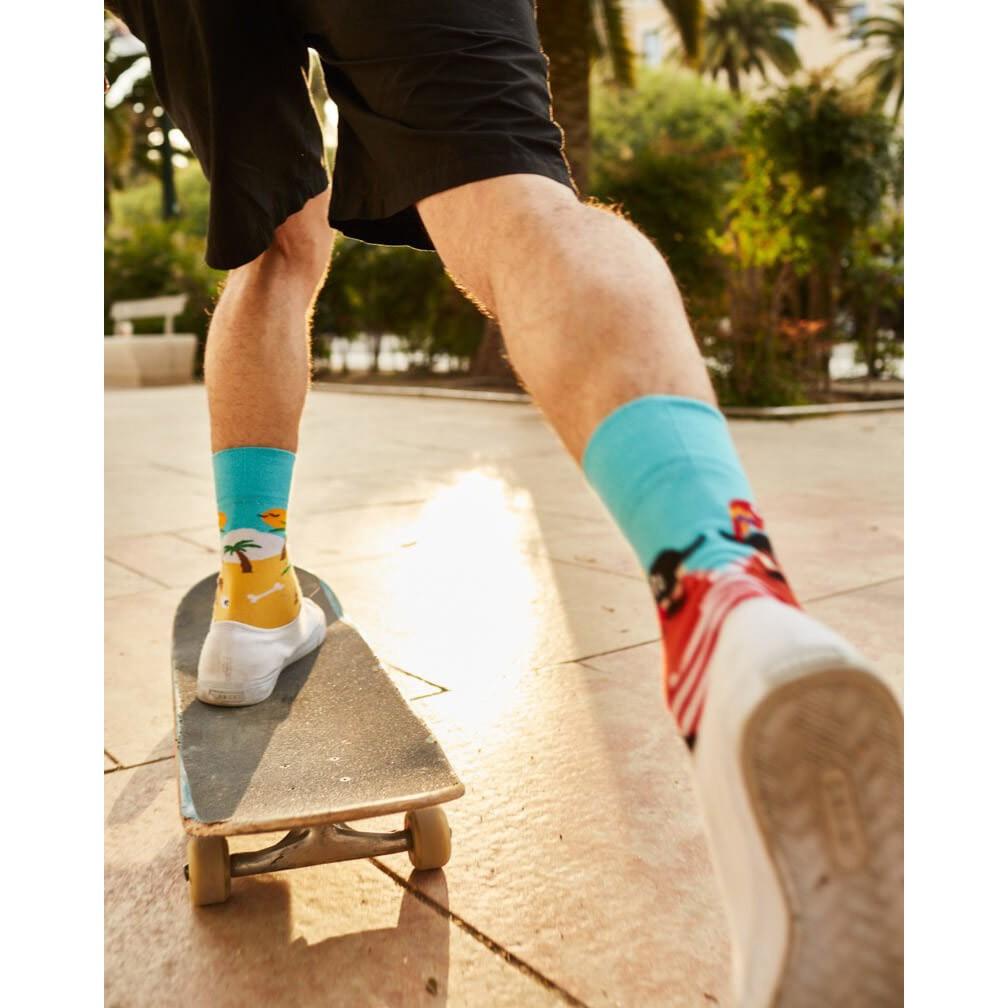 Barevné ponožky PIRATE ISLAND pirát ostrov 35-38 megamix.shop