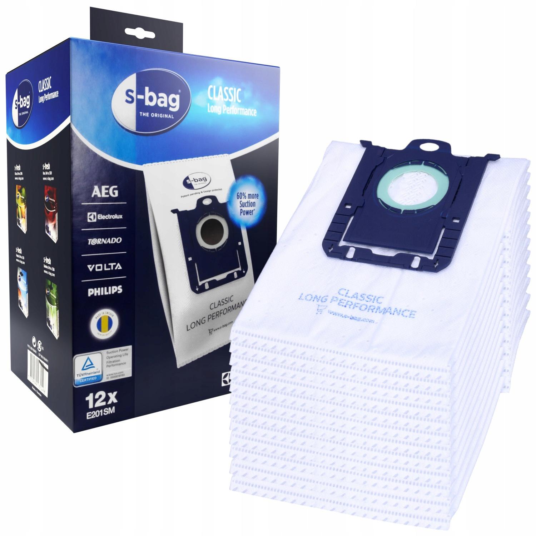 vrecko na syntetický vysávač S-BAG 12ks + filter megamix.sk
