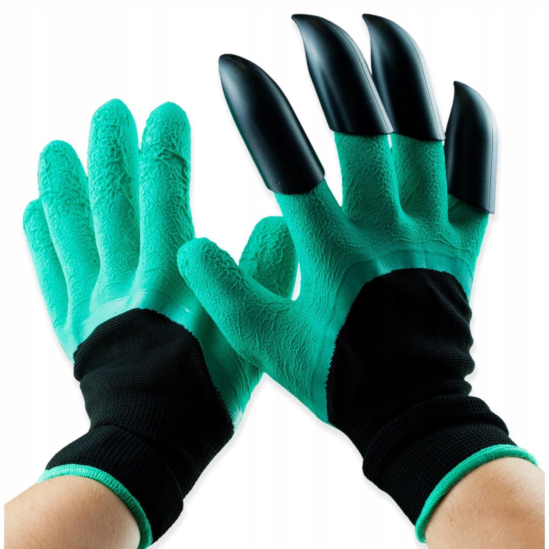 zahradní rukavice s drápy na hrabání univerzální velikost megamix.shop