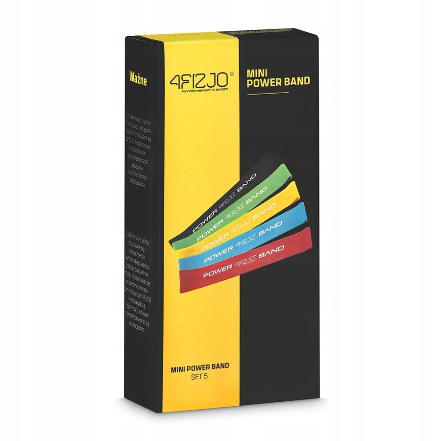 odporové gumy posilovací na cvičení sada 5ks + taška megamix.shop